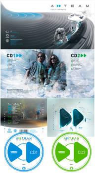 A-team CD Cover Art-work