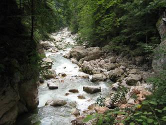 Italian river by DvdGiessen