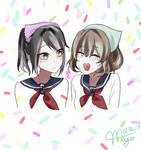 AMAI ODAYAKA AND AYANO CHAN
