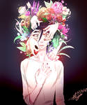 yankun with Flower