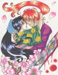 Kenshin And Kaoru very close 2
