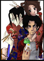 Champloo Cast get food colored