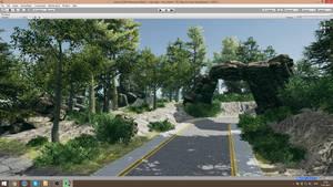 BTM Level design 17.30 road