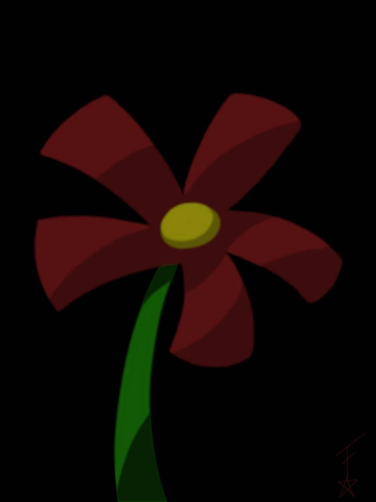 Jealousy Flower by Fractoluminescence