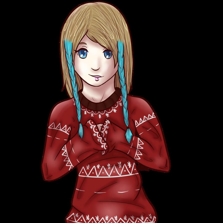 Christmas Sweater Maya by Managodess