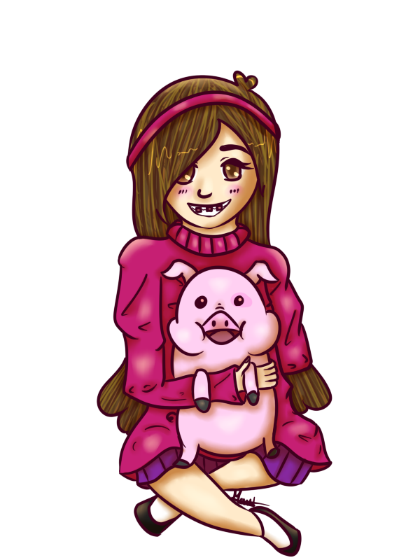 how to draw mabel and waddles