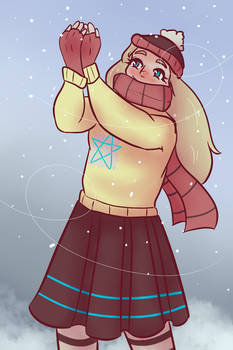 Let it Snow - Art Fight