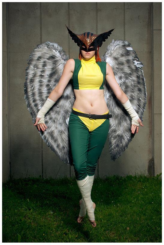 Hawkgirl by HiHaHo