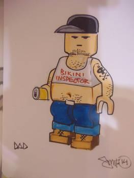 Dad Lego