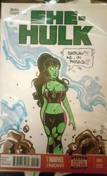 Betty Cooper: She Hulk by smifink