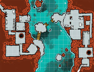 Map 04 Sq Post aka the underground river map