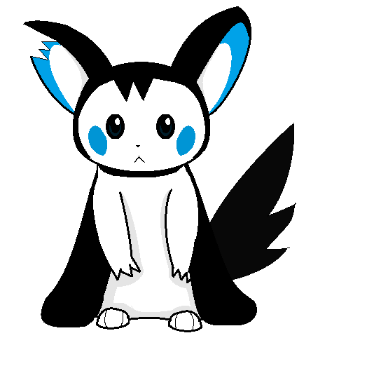Cloud the Emolga by Erika-Virus