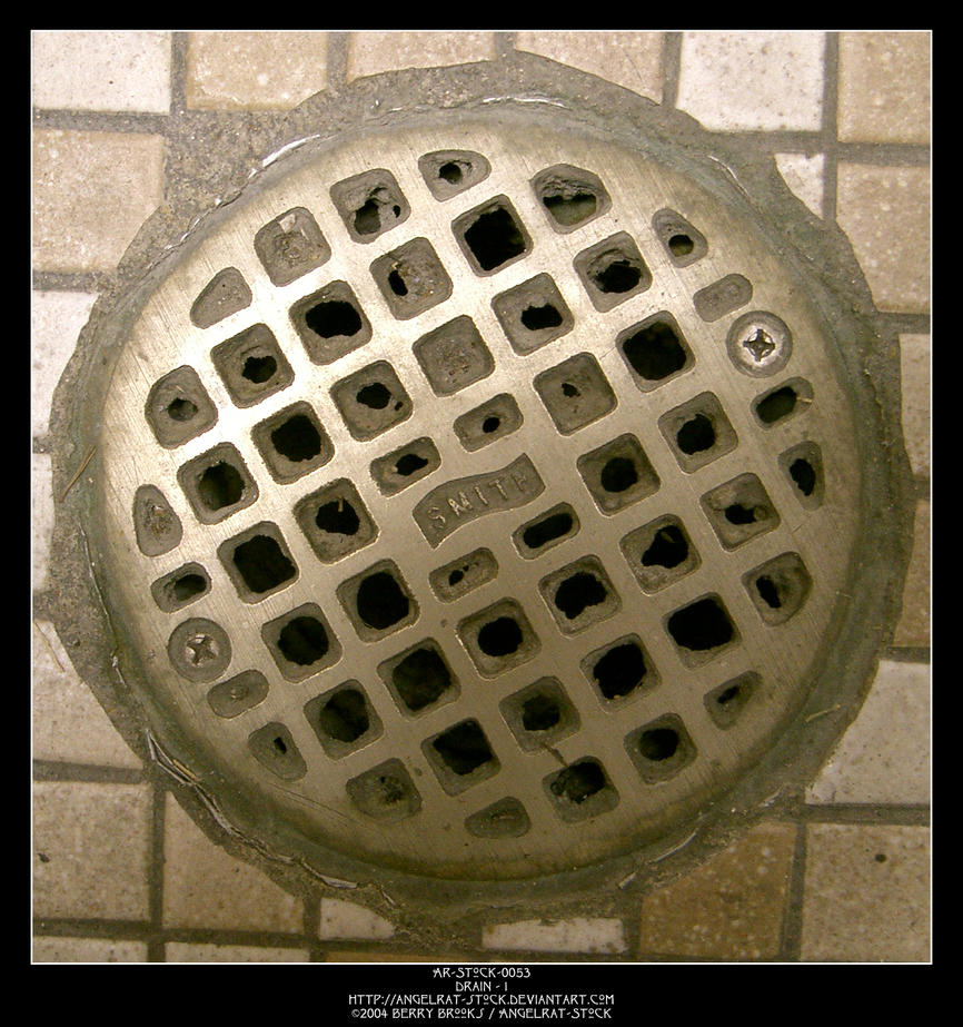 Drain - 1 by Angelrat-Stock