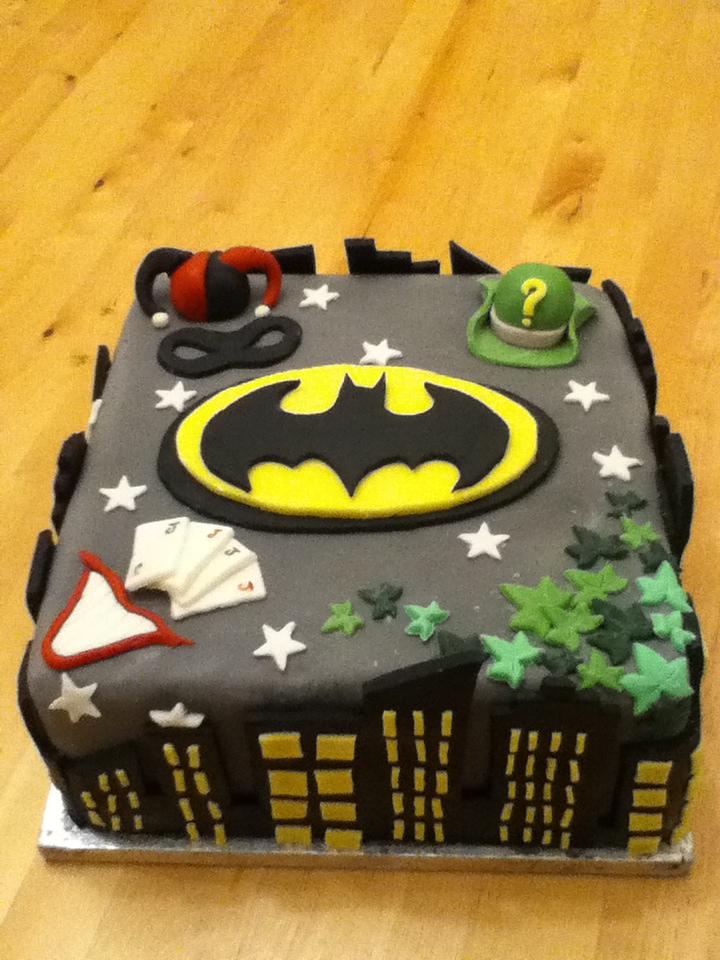 Batman Birthday Cake By Charley Blue On Deviantart