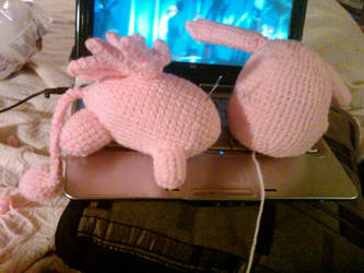 In Progress Burupya Plushie by Bernardakins