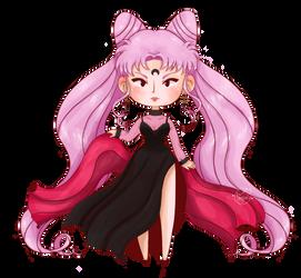 Lady Black Moon FanArt by Homishi