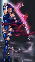 Psylocke by bladeboy