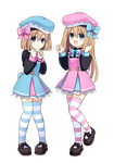 Megatagmension Rom and Ram Render
