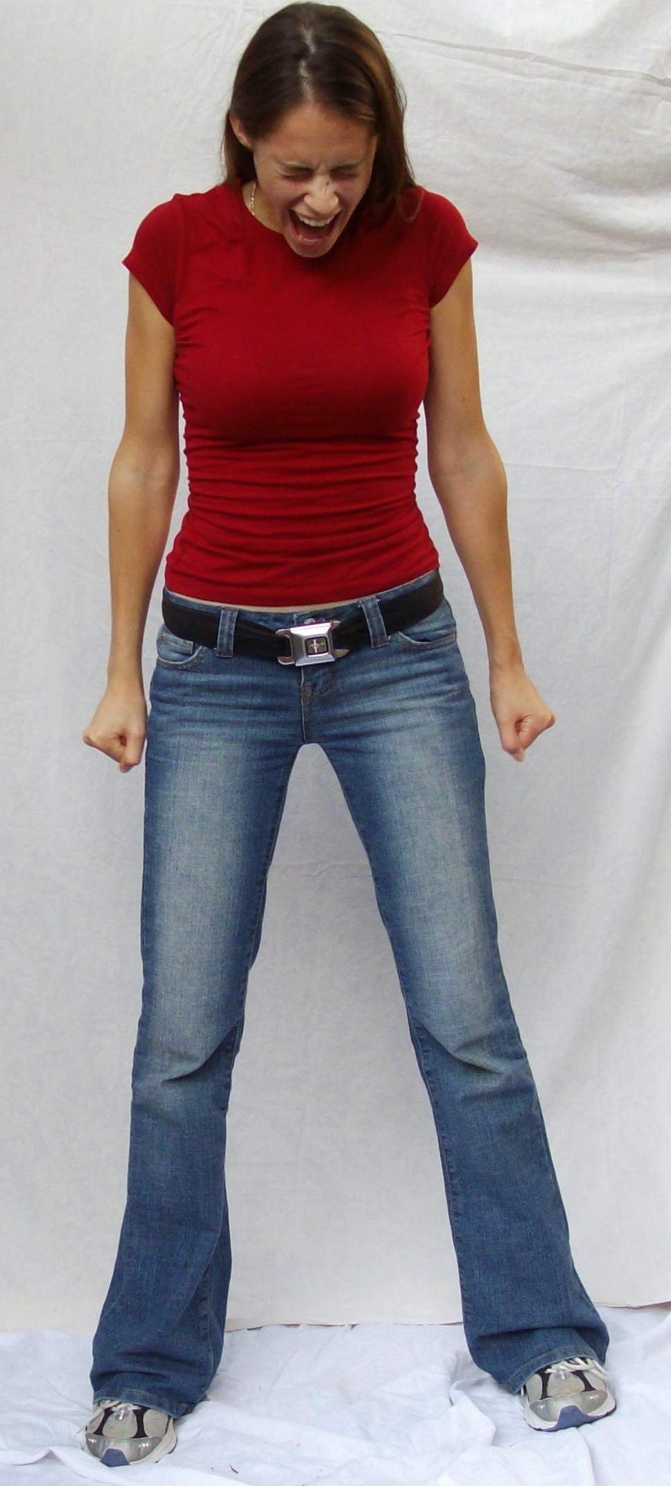 Denim and Red ::Stock 12:: by spiked-stock
