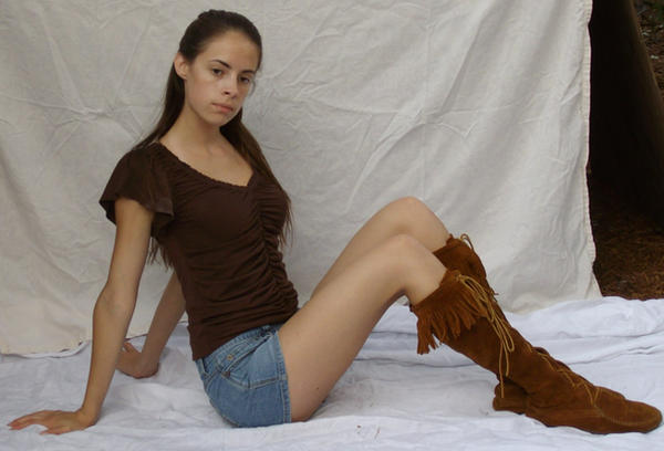 Shorts and Boots ::Stock 5:: by spiked-stock