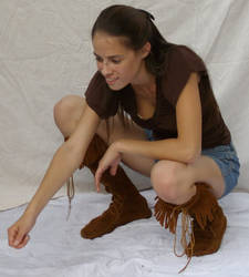 Shorts and Boots ::Stock 6:: by spiked-stock