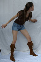 Shorts and Boots ::Stock 13:: by spiked-stock
