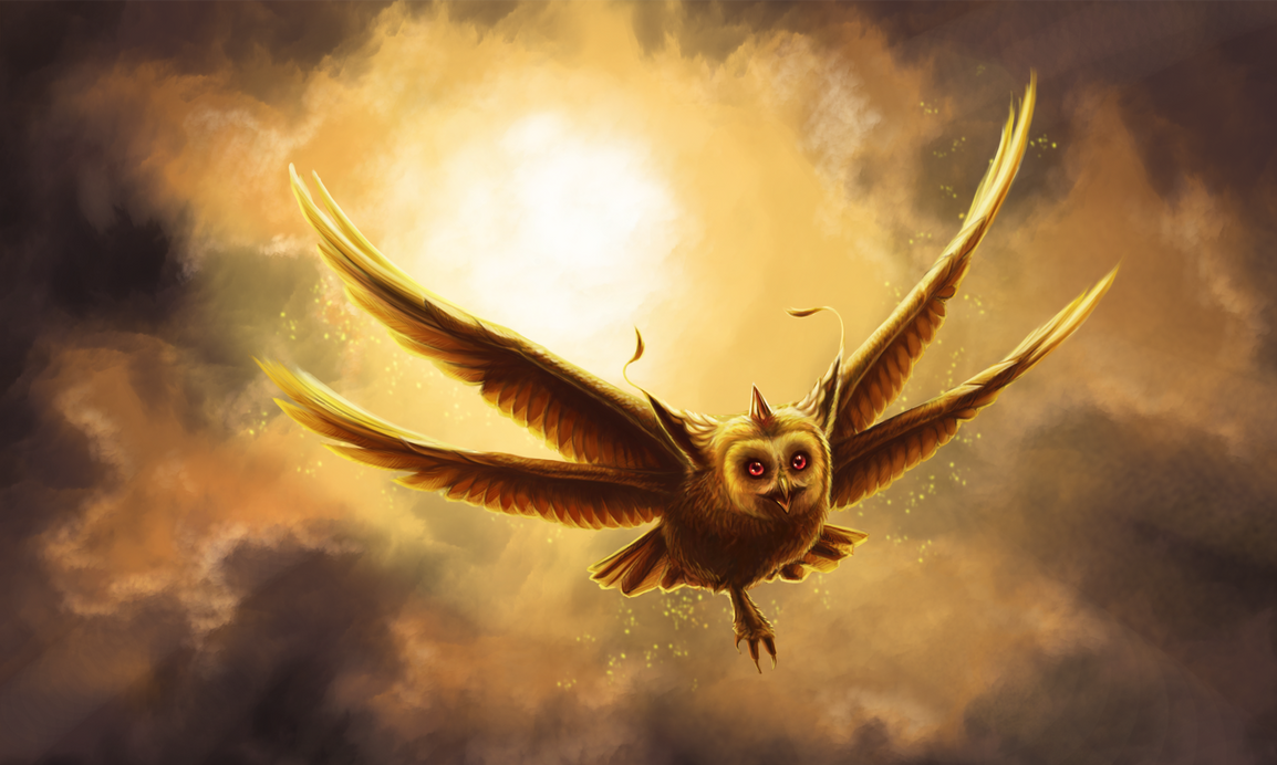 Gughi - the gold bird of Xorax