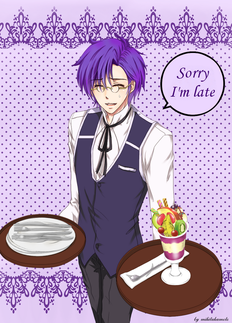 MH: Rache Butler - Sorry I'm late by MikiTakamoto