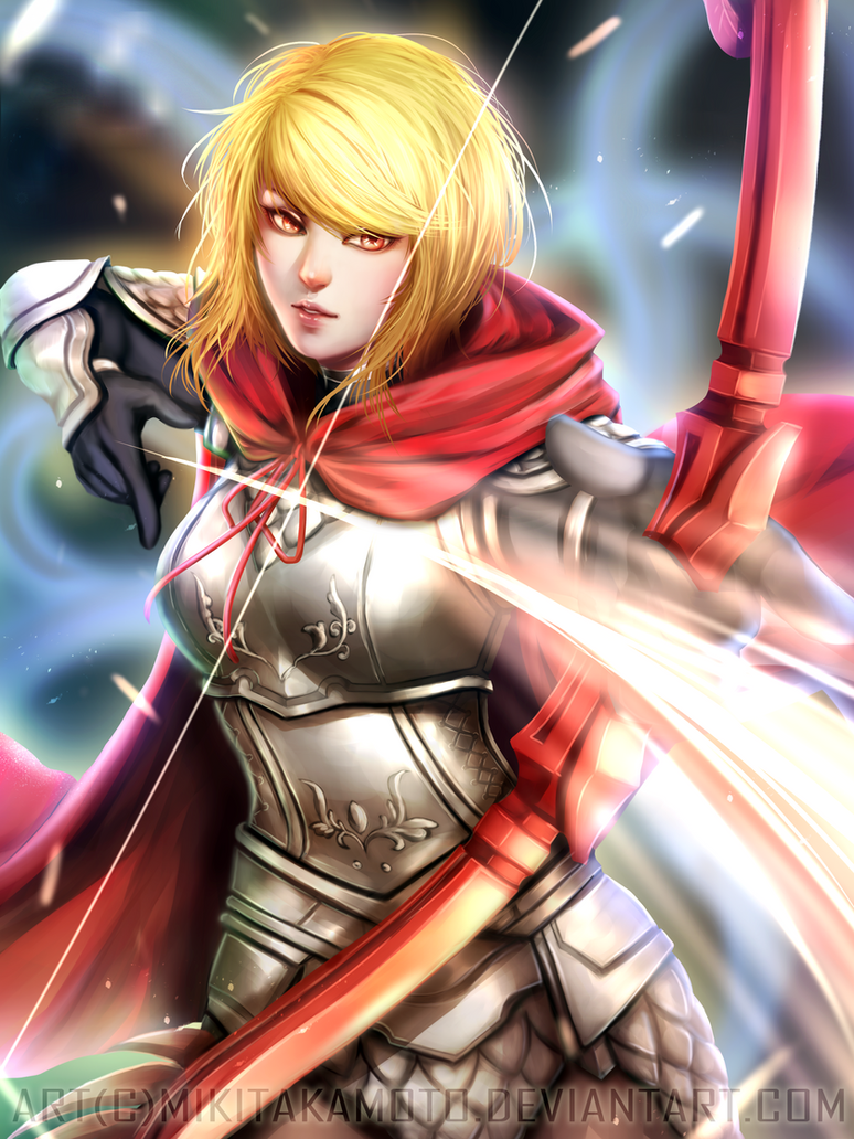 CM: Red The Archer by MikiTakamoto