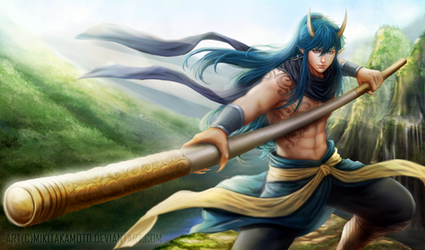 CM: GOD OF PROTECTION AND REVIVAL by MikiTakamoto