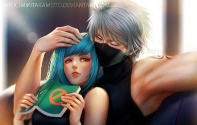CM: Kakashi and Mina by MikiTakamoto