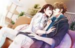 CM: Koharu and Ryuunosuke