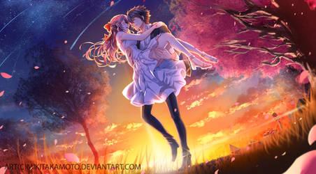 CM: Yuunoa crossover golden time by MikiTakamoto