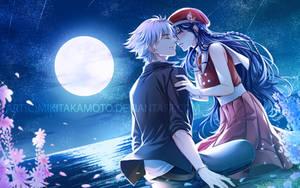 CM: Moon kiss by MikiTakamoto