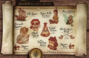 Fairy Tale Ball treasure map by IngvardtheTerrible