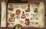 Fairy Tale Ball treasure map