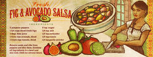Fig and Avacado recipe