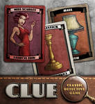 Clue: Miss Scarlet, Hall, Candlestick