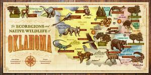 The Ecoregions and Native Wildlife of Oklahoma by IngvardtheTerrible