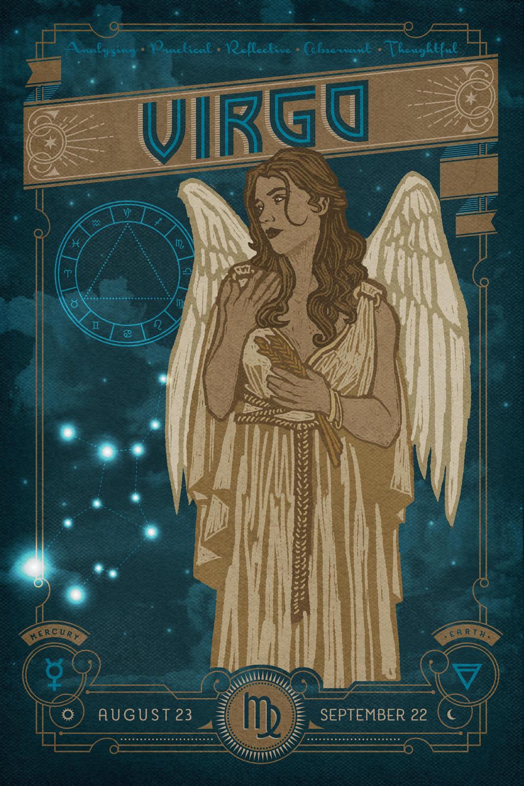 Zodiac 6 Virgo By Ingvardtheterrible On Deviantart