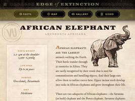 Edge of Extinction: African Elephant info by IngvardtheTerrible