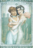 Korrasami Wedding Day #1 by IngvardtheTerrible