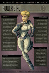 Superwomen 8 - Power Girl by IngvardtheTerrible