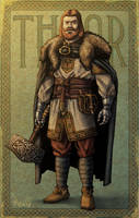Historically Accurate Norse Gods: Thor by IngvardtheTerrible