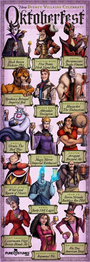 How Disney Villains Celebrate Octoberfest