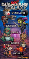 Baby Guardians of the Galaxy