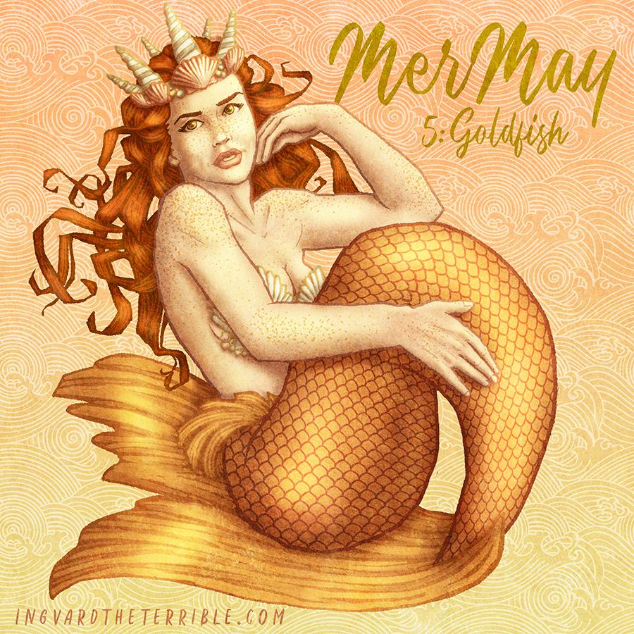 MerMay 2018: Day 5 by IngvardtheTerrible
