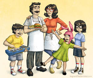 Bob's Burgers by IngvardtheTerrible