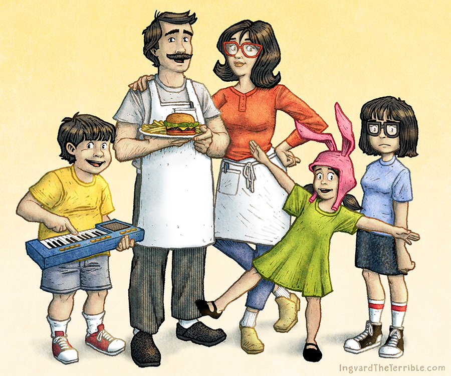 Bob's Burgers by IngvardtheTerrible