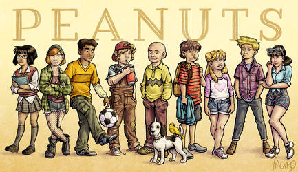 The Peanuts Gang (In My Style)